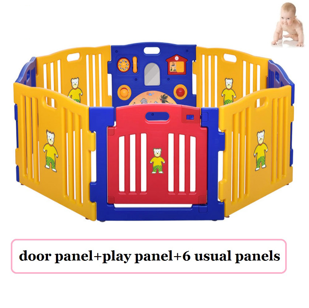 Safety Baby Kid Kids Play Garden Fence Yard Safe Room Soft
