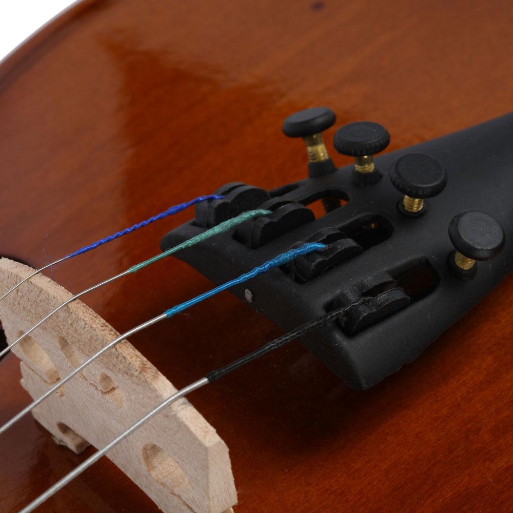 hot sale 1 2 size acoustic violin fiddle case bow rosin for beginner ebay. Black Bedroom Furniture Sets. Home Design Ideas